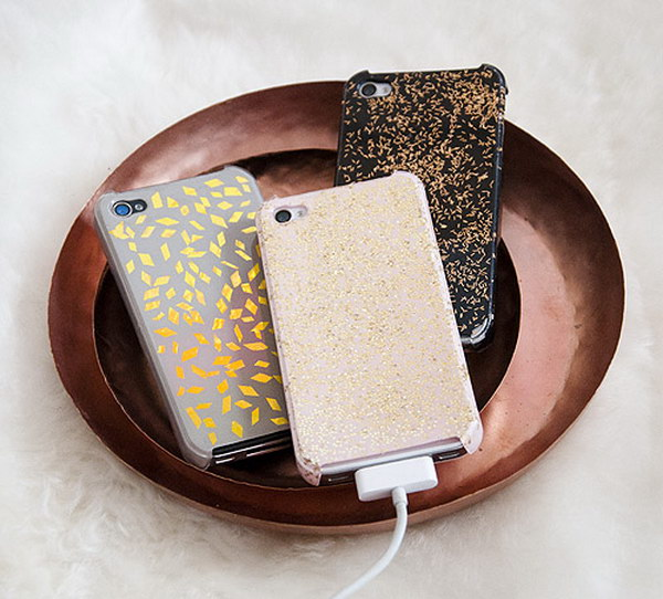 Repurposed Glitz Cases.
