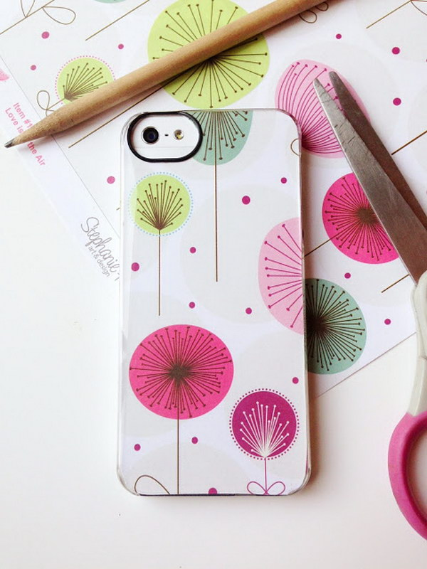 30 Diy Phone Case Tutorials And Ideas 2017