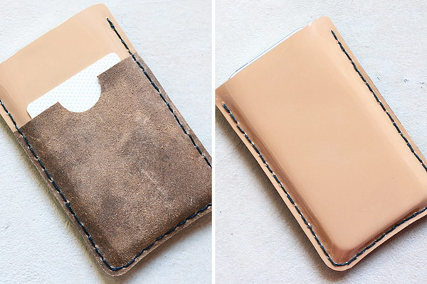 Leather Case.