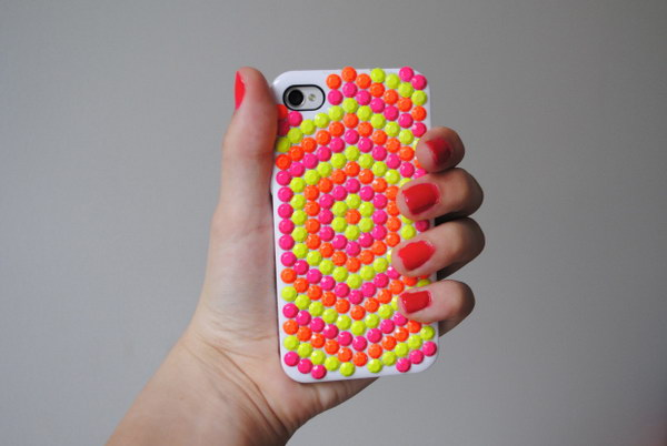 Neon Studded Case.