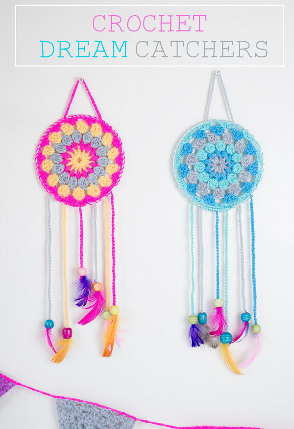Crochet Dream Catchers.
