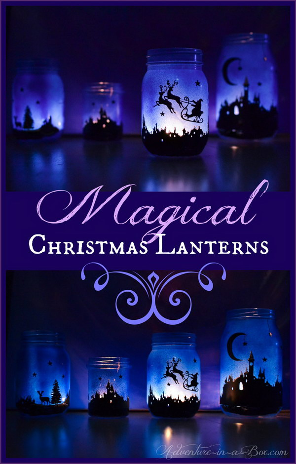 Magical Christmas Lanterns.