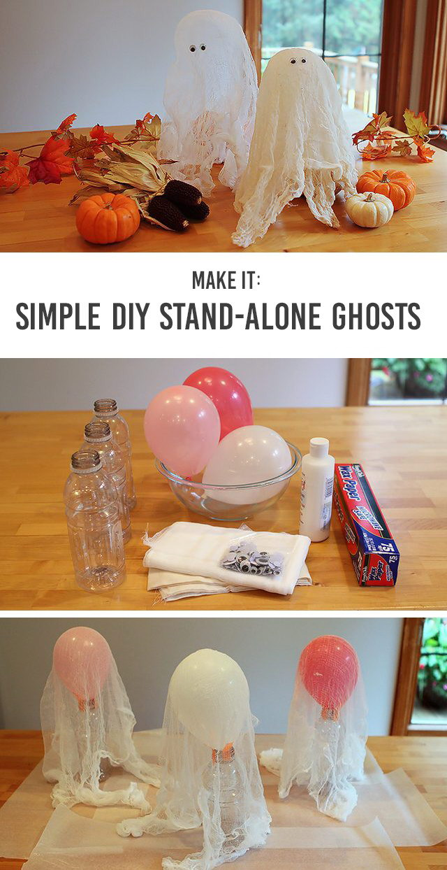 Simple Exhibition Stand Here Alone : Easy diy halloween crafts that even kids can do it