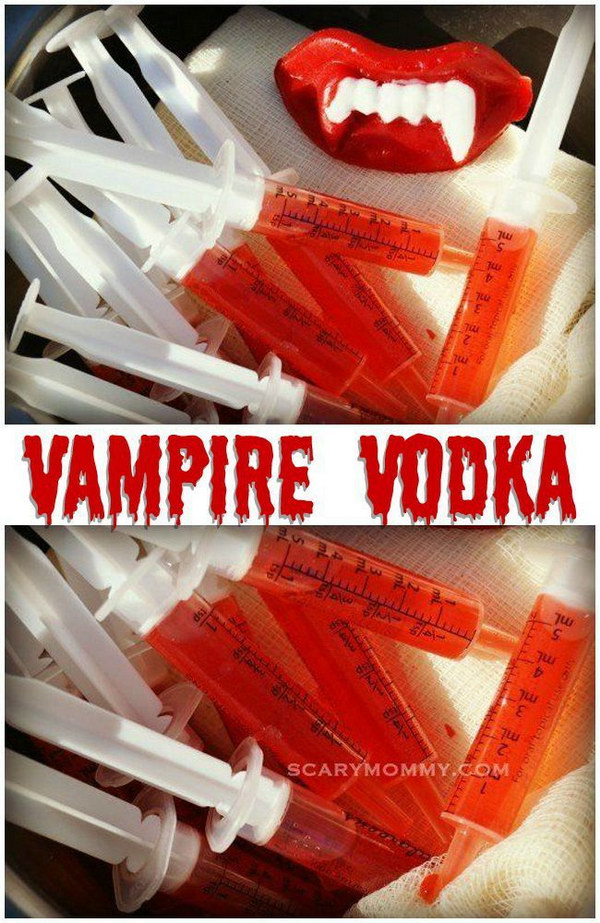 It's a frighteningly delicious Halloween party cocktail idea from the Scary Mommy Recipe Box!
