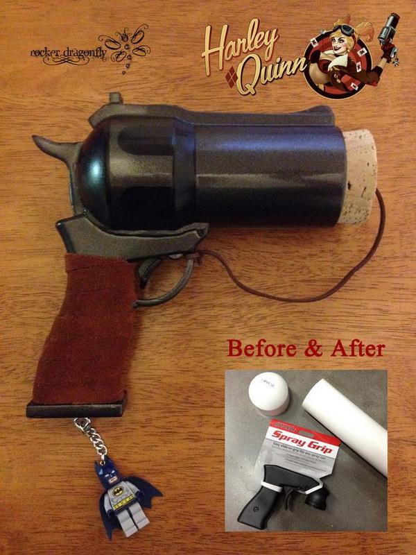 Harley Quinn Cork Gun.