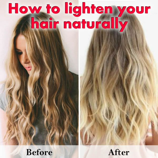How to Lighten Hair Naturally at Home?
