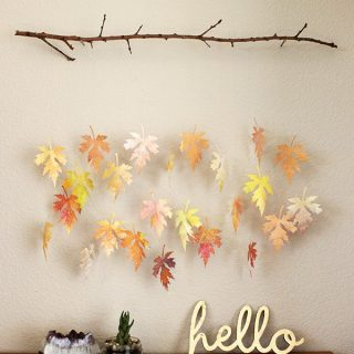 DIY Crafts with Fall Leaves