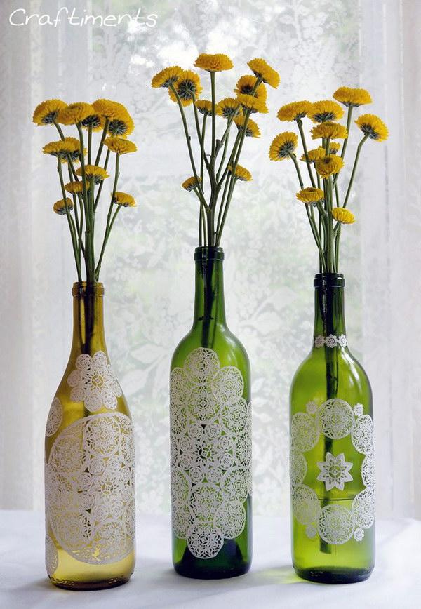 5 doily crafts