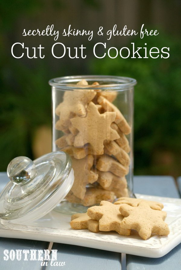 Healthier Cut Out Cookies.