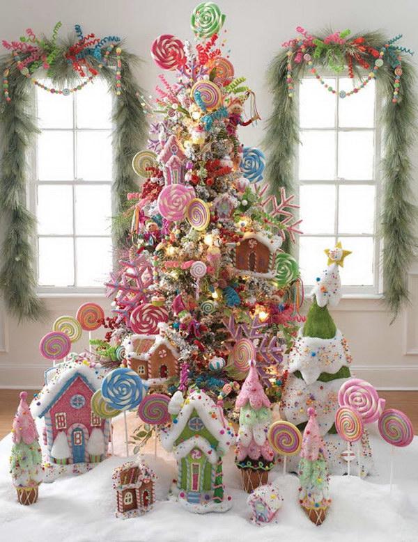 Lollipop Christmas Tree