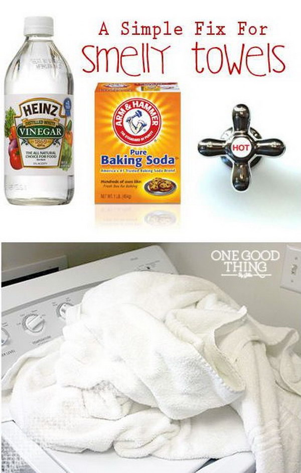 A Simple Fix For Smelly Towels.