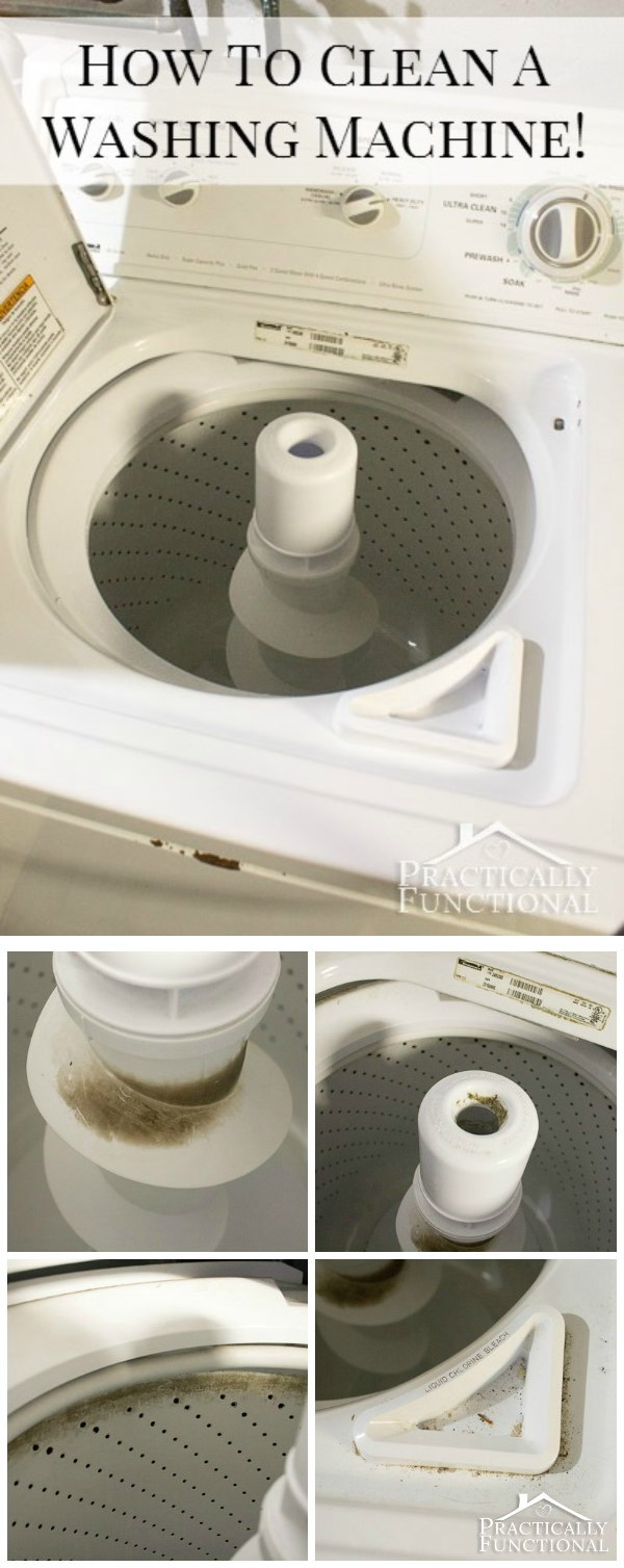 Deep Clean Your Washing Machine.