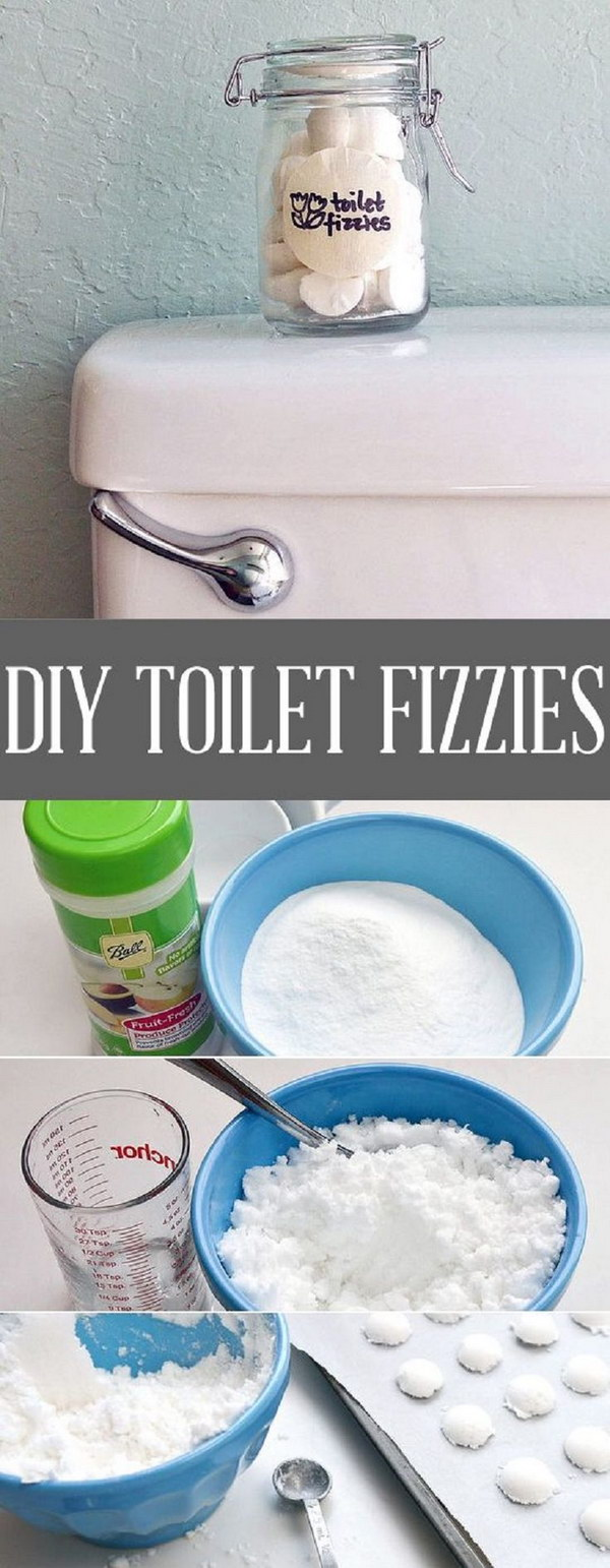 Refresh Your Commode With DIY Toilet Fizzies.