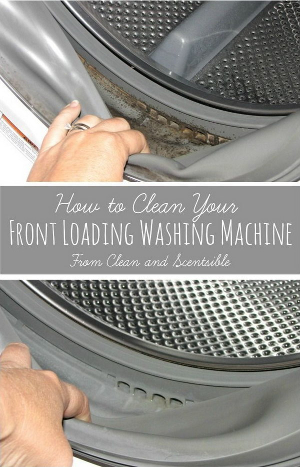 How to Deep Clean your Washing Machine.
