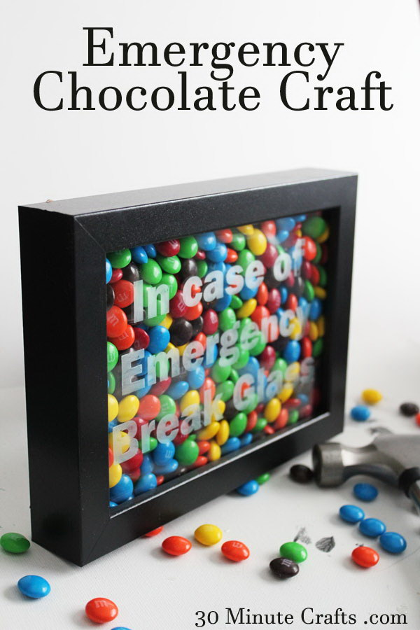 Emergency Chocolate Gift Box.