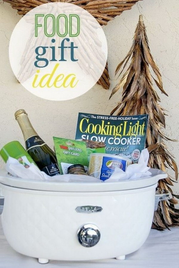 Food Lover Gift Basket.