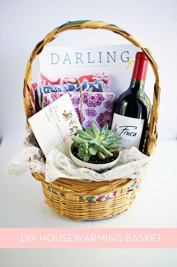 diy gift baskets 35 creative diy gift basket ideas for this 2017 30518