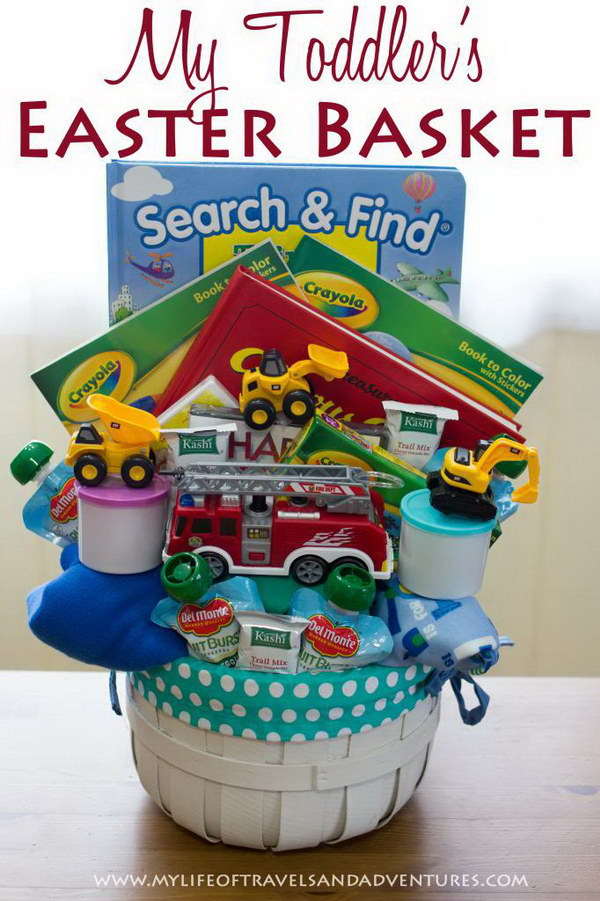 Gift Basket for Toddlers.
