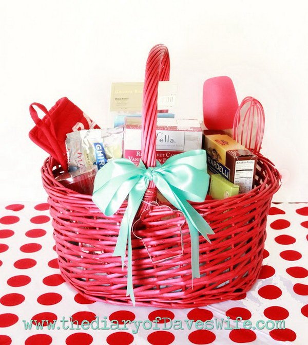 Perfect Hostess Gift Basket.