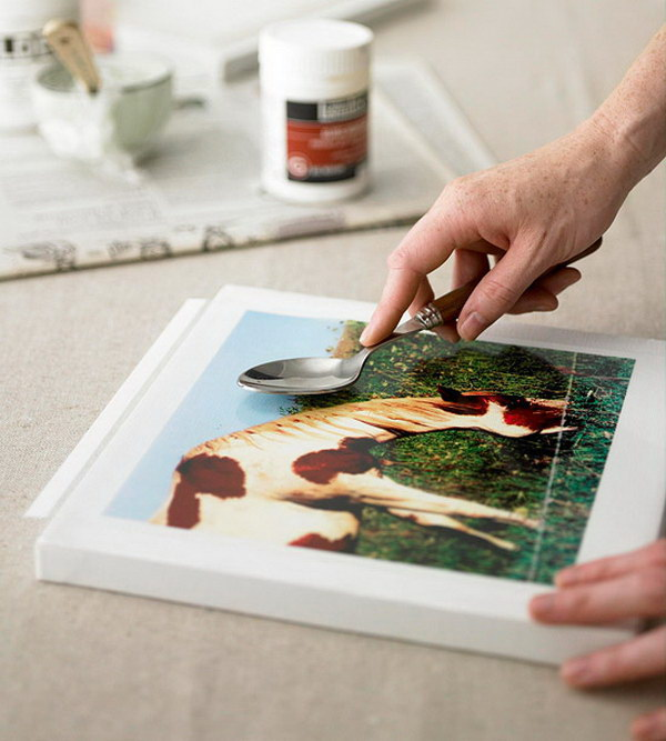 Nature-Inspired Photo Transfer Projects.