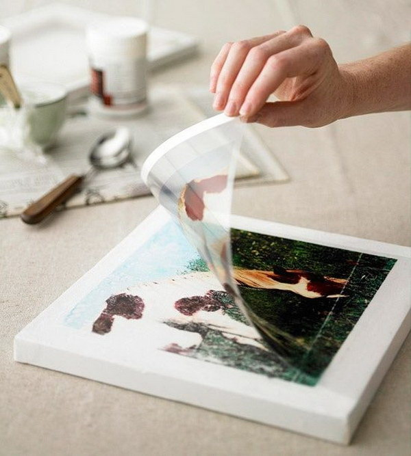 Transfer your favorite photos on different-size canvases and send them as gifts or group them for a cool wall display.