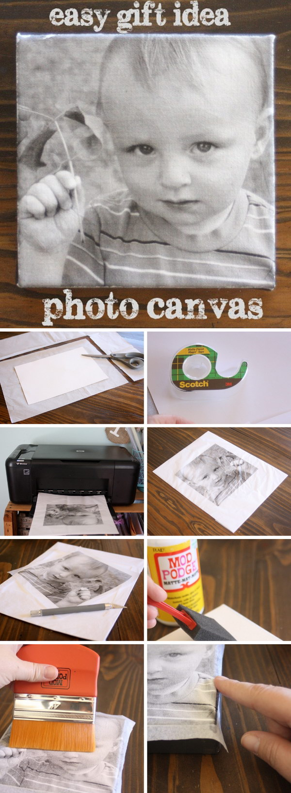 50 Awesome Diy Image Transfer Projects 2017