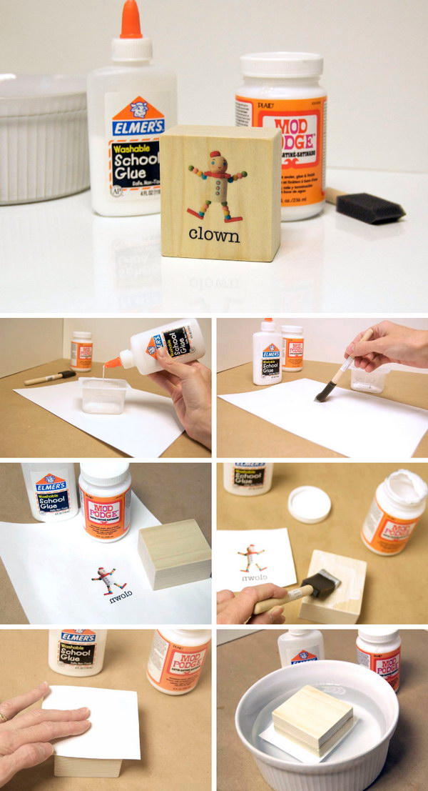 Use Mod Podge Photo Transfer Medium to Create a DIY Project