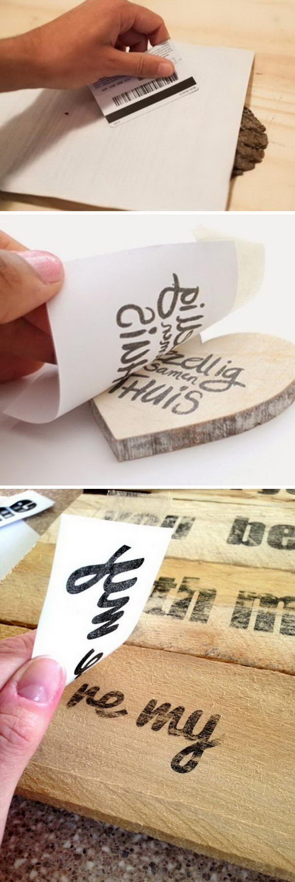Awesome DIY Image Transfer Projects.