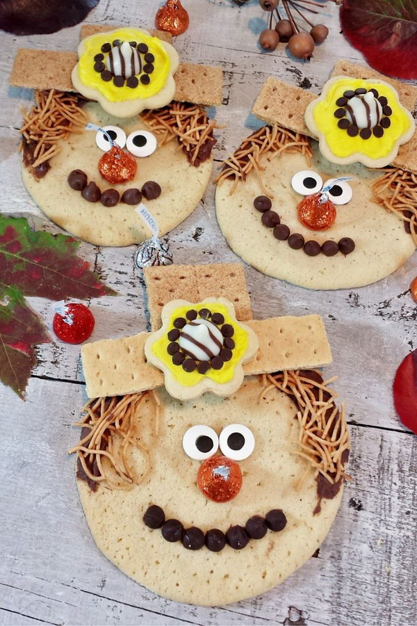 Homemade Scarecrow Cookies.