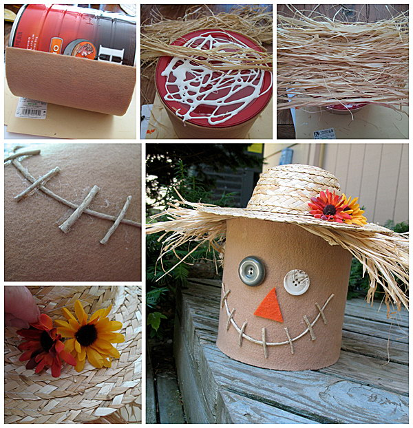 Creative diy scarecrow ideas for kids to have fun 2017 for Unique fall crafts for adults