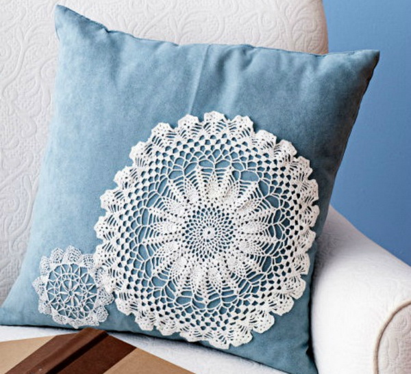 lace craft ideas 25 beautiful diy fabric and paper doily crafts 2017 2299