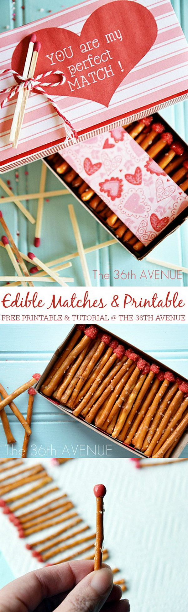 Edible Box Of Matches.