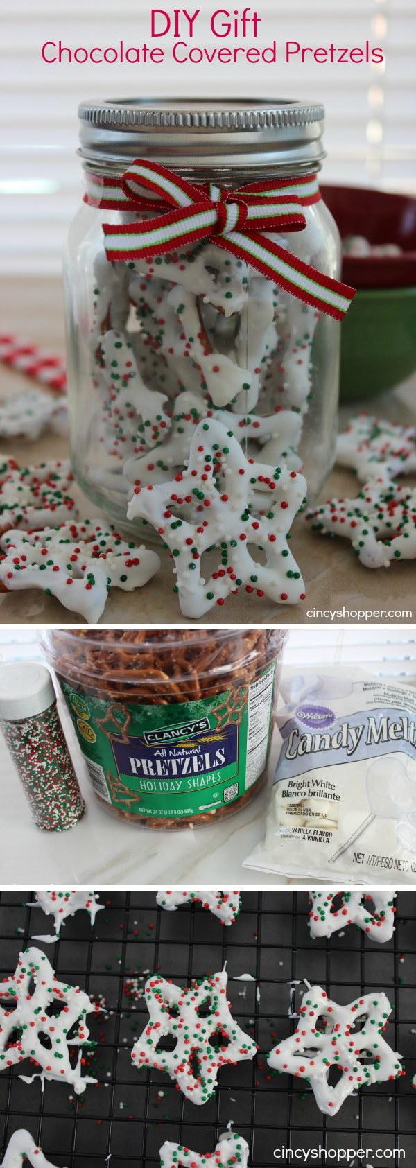 White Chocolate Pretzels Recipe.