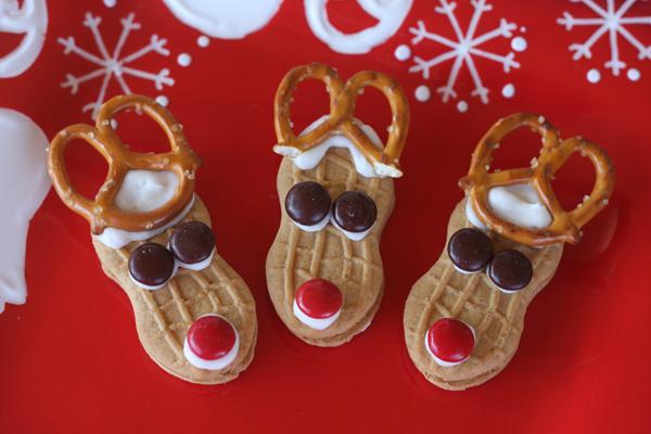 Nutter Butter Santa Cookies.