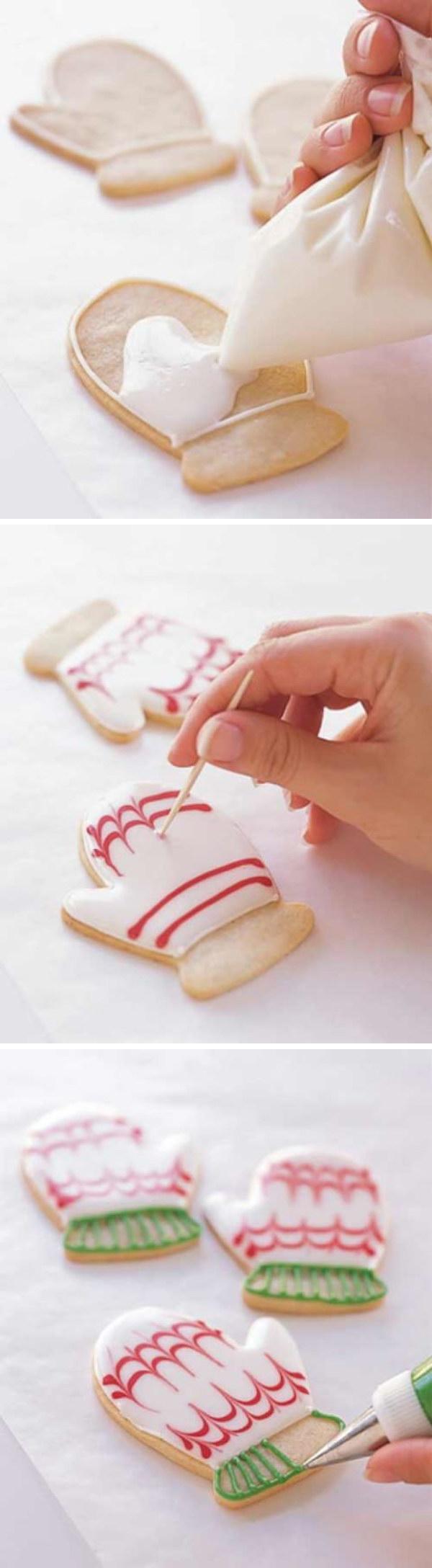 Homemade Glove Cookies.