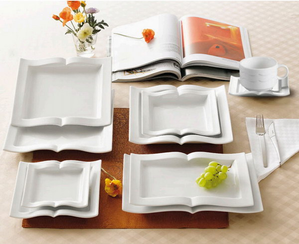 Book Shaped Platter. Looking for a gift for book club? These platters are the perfect book related gifts for her and any book lover!