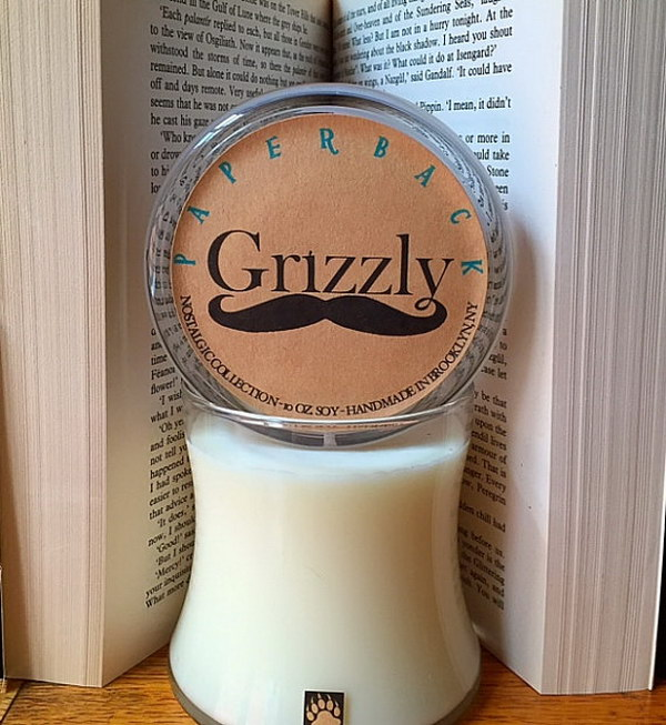 Paperback Soy Candle.