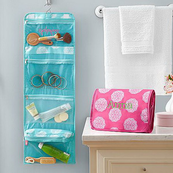 Hang It Up Cosmetic Bag.