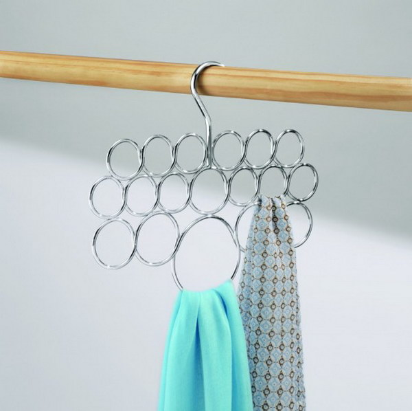 InterDesign Axis Scarf Hanger.