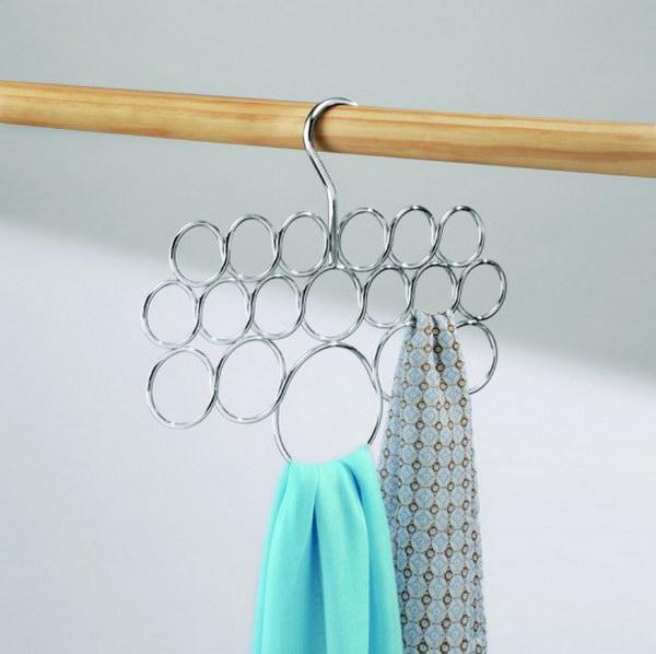 InterDesign Axis Scarf Hanger.