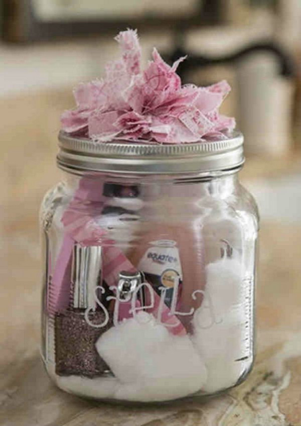 Manicure in a Jar.