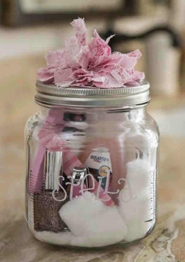 Manicure in a Jar.