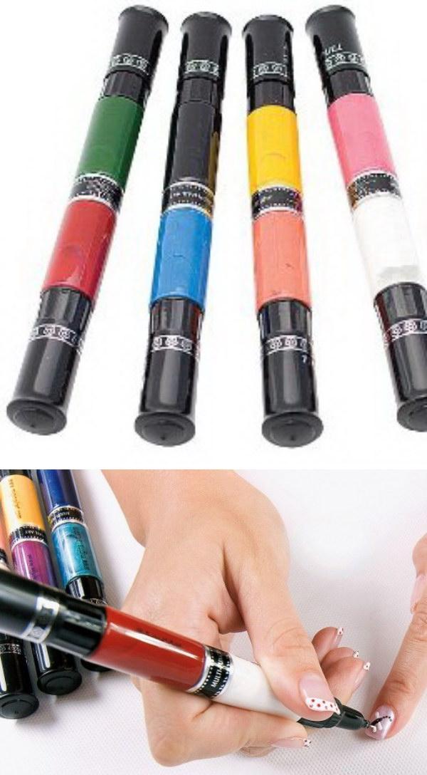 Migi Nail Art Kits and Nail Polishes.