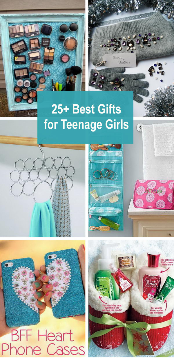 25+ Best Gifts for Teenage Girls.