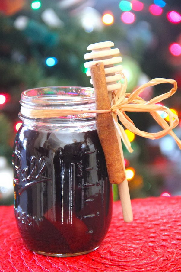 Need a last minute gift? DIY Mulled Wine is perfect for the wine lover!