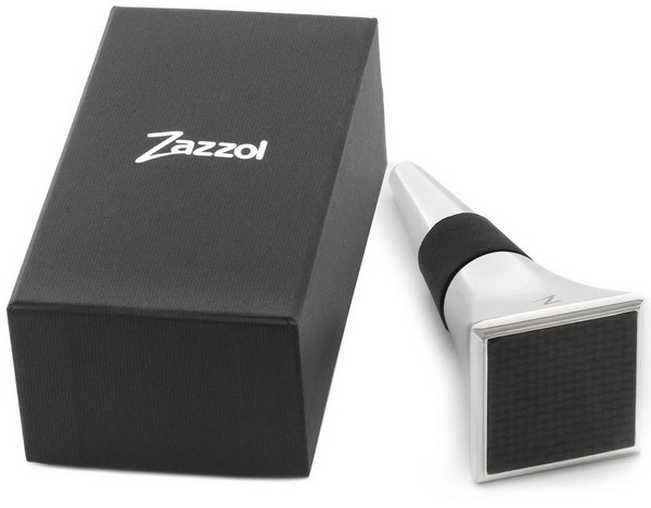 Zazzol Wine Bottle Stopper. This is a lovely, high end wine stopper that comes in a luxury gift box. It is such heavy quality and makes a fantastic and impressive presentation as a gift!