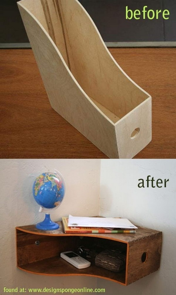 DIY Catch-All Shelf.