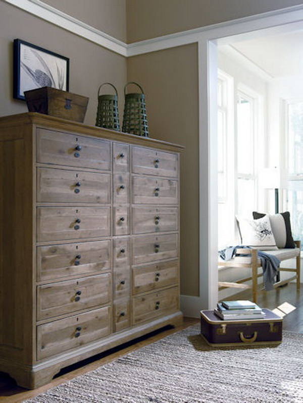 Take Care of Your Clothes Storage Problems with This 12 Drawers Dresser.