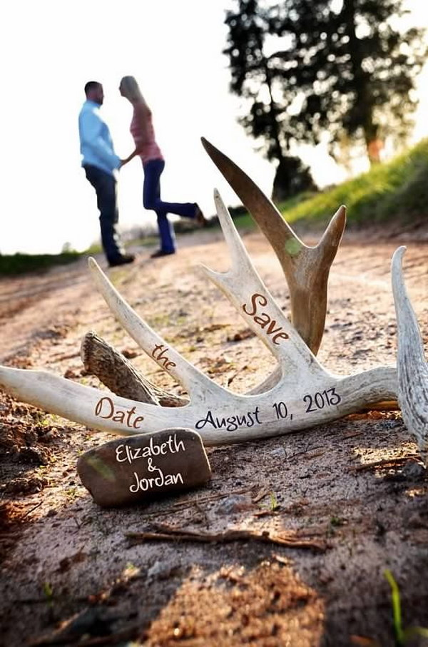 Hunting Themed Save the Date