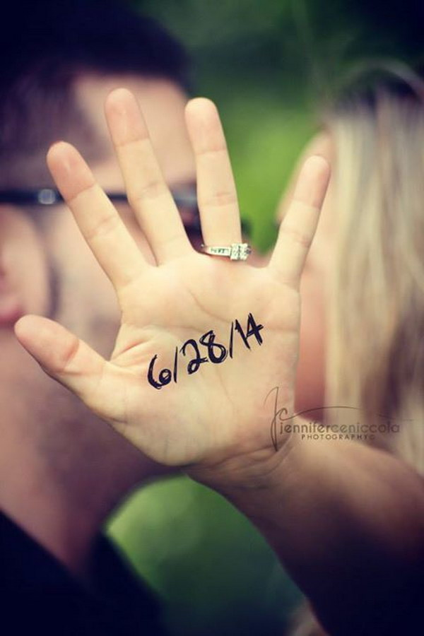 30 Fun Creative Save the Date Photo Ideas 2017 – Save the Date Wedding Picture Ideas